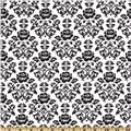 Pimatex Basics Damask White/Black