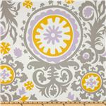 UM-244 Premier Prints Suzani Twill Wisteria