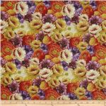 0274757 End Of Summer Packed Floral Multi