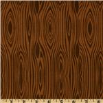FV-023 Riley Blake Elk Ridge Wood Grain Brown