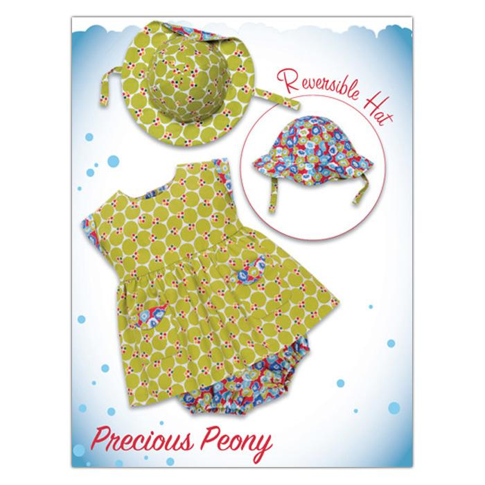 Kwik Sew Baby Precious Peony Dress & Hat (3907) Pattern
