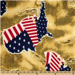 0264050 Stretch Crepe Jersey Knit Liberty Gold