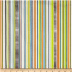 203647 Riley Blake On The Go Stripes Brown