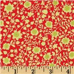 Peggy Sue Floral Toss Red