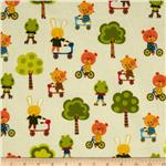 0264549 Creatures &amp; Critters Animals On The Move Ivory