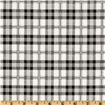 UK-722 Premier Prints Tommy Plaid White/Black