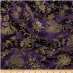 0298764 Chinese Brocade Birds in a Tree Plum