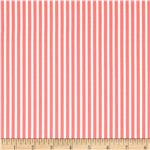 0273696 Moda Posy Stripe Geranium Coral