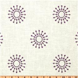 Duralee Home Embroidered Ramdsen Purple