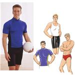 KP-2881 Kwik Sew Men&#39;s Close-Fitting Shirt, Shorts &amp; Trunks Pattern