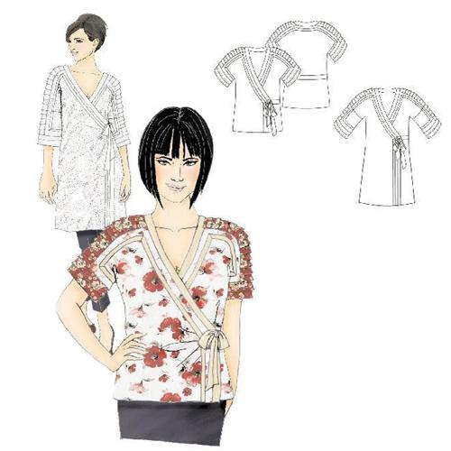 Hot Patterns Tokyo Joe Top &amp; Tunic Pattern