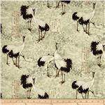 Tancho Large Birds Cream