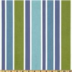 Richloom Solarium Outdoor Sheers Voile Union Stripe Pool