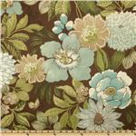 UI-980 Swavelle/Mill Creek Indoor/Outdoor Jolene Floral Chocolate