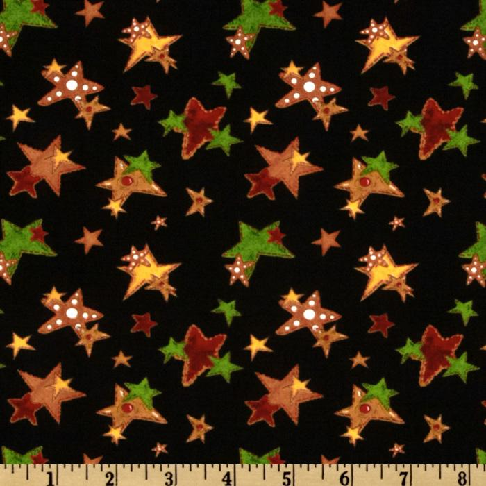Ginger Tree Allover Stars Black