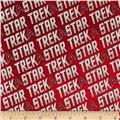 Star Trek Logo Words Red