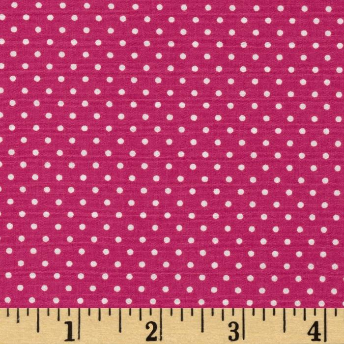 Pimatex Basics Pin Dot Hot Pink/White