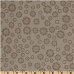Verona Flowers Grey Taupe