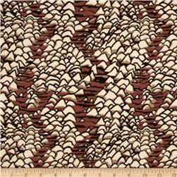 Brandon Mably Collection Shell Scape Brown