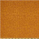 Spice Market Flannel Flourish Gold