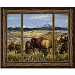 EW-871 Bison Range Wall Panel Brown