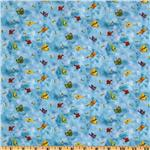 236993 Home Sweet Home Birds &amp; Bees Blue