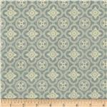 0274286 A Ladies' Diary Rosettes Teal