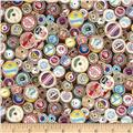 Sew Retro Cotton Reels Multi
