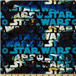 Star Wars Action Words Black/Blue