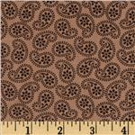 205545 Road Well Traveled Tossed Paisley Tan