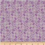 0272652 Flannel Butterfly Lilac