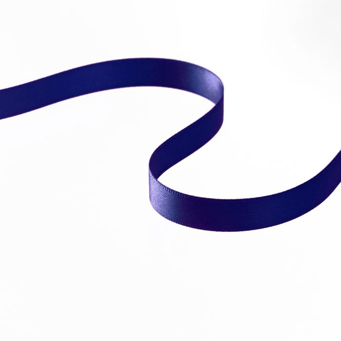 "3/8"" Double-sided Satin Ribbon Navy"