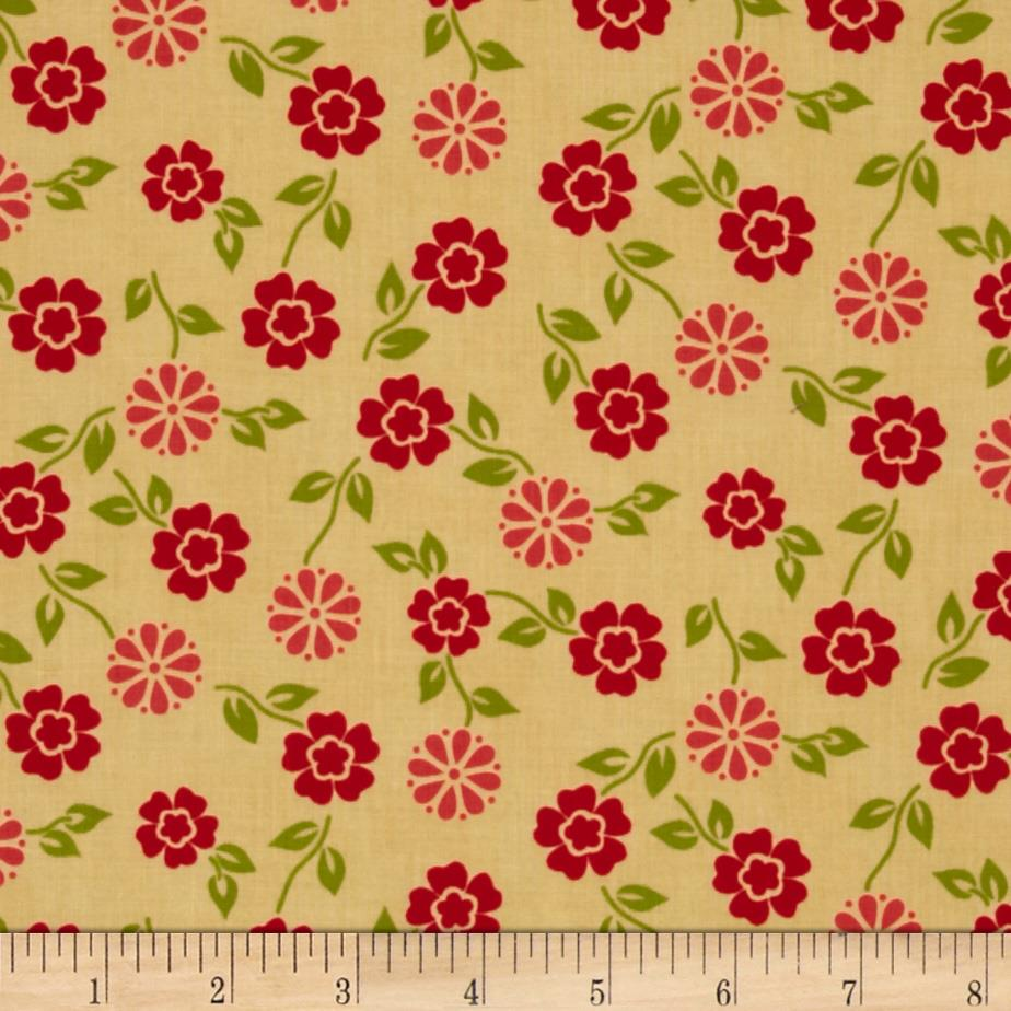 Summer House Small Floral Yellow