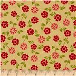 0272368 Summer House Small Floral Yellow