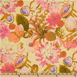 Martha Negley Classics Collection Fruit & Floral Pink