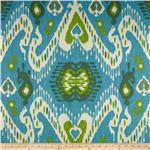 227968 Waverly Enlightened Ikat Jade