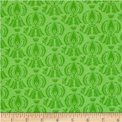 Tone on Tone Damask Green