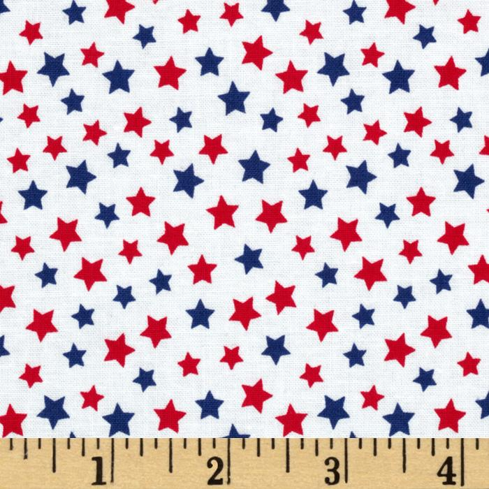 Brights & Pastels Basics Stars Patriot