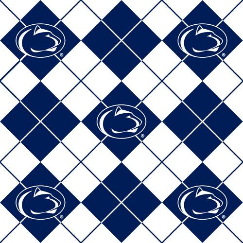 Collegiate Fleece Penn State University Argyle