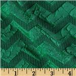 Jane Chevron Knit Green