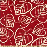 UF-660 Premier Prints Indoor/Outdoor Leaf American Red