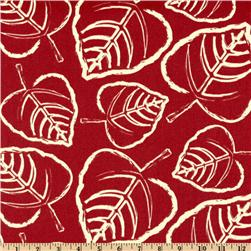 Premier Prints Indoor/Outdoor Leaf American Red
