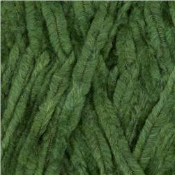 Lion Brand Chenille Yarn (130) Emerald