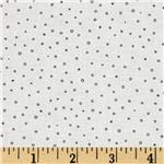 Timeless Treasures Geo Dots White