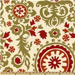 Premier Prints Suzani Autumn/Natural