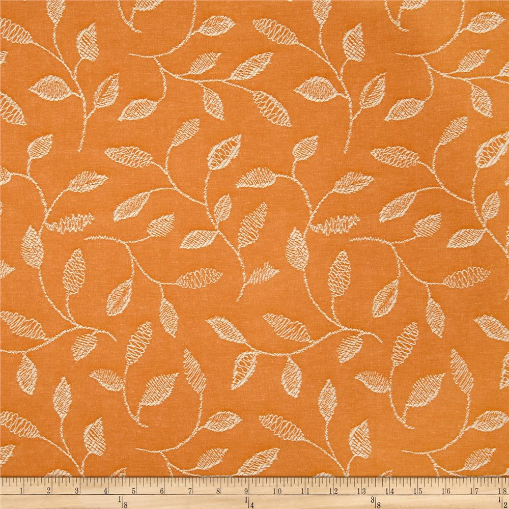 Covington Embroidered Sabrina Tangerine