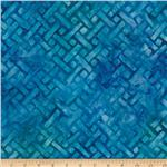 Artisan Batiks: Elementals Geos 4 Crosshatch Blue