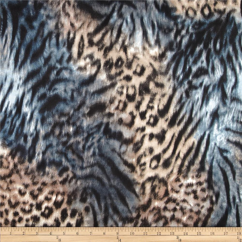 Marni Double Knit Animal Print Beige