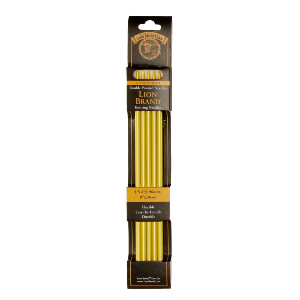 "Lion Brand Knitting Needles Double Pt. 8"" US 8 (5mm)"