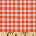 UH-133 Oil Cloth Gingham Orange